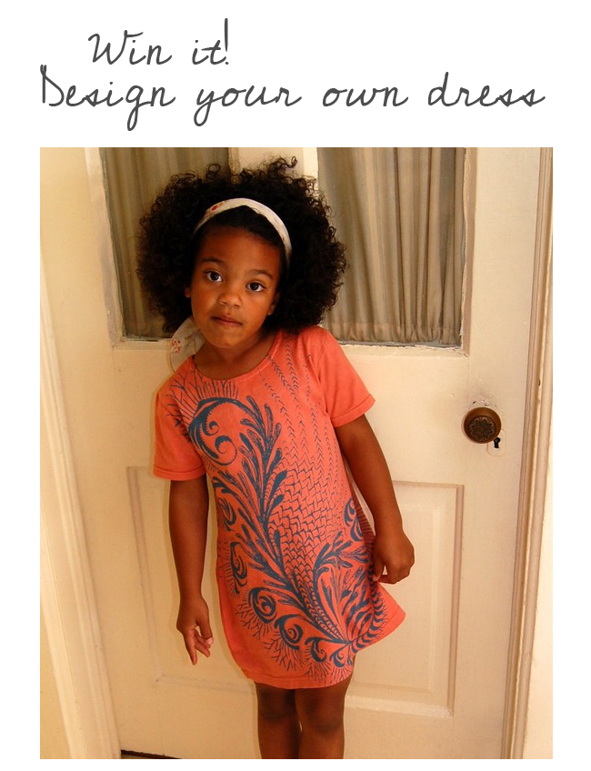 ... original screen printed tops and dresses for babies up to adult size.