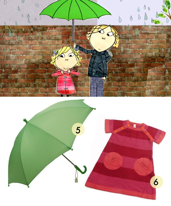 Charlie and Lola - Umbrella and Tunic - Get the look