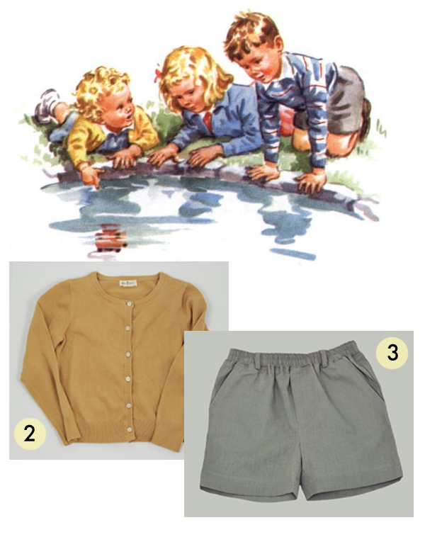 Image from Dick and Jane: Go, Go, Go; Jacqueline Cardigan and Christopher Short from Olive Juice