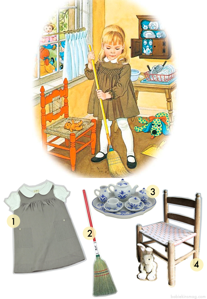 Babiekins Magazine Blog - Little Mommy - Little Golden Book - Get the Look