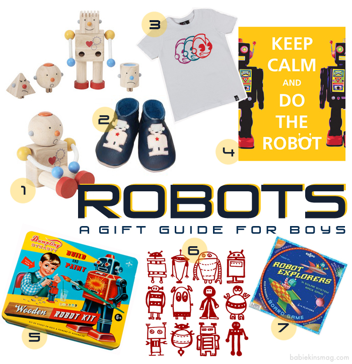 Boys Gift Guide - Robots - Must-Have Robot Items