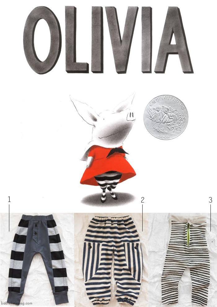 Get the Look - Dress your Child like the Children's Book Character Olivia - as seen on the Babiekins Magazine Blog