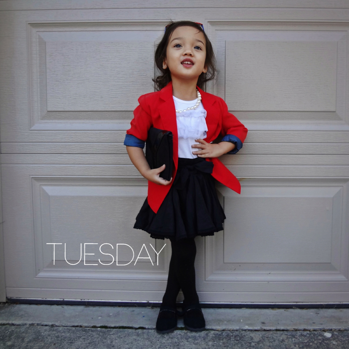 Click through to see an entire week of outfits modeled by Malaya of Wildflowers3 on Babiekins Magazine's blog series Lil' Stylekins