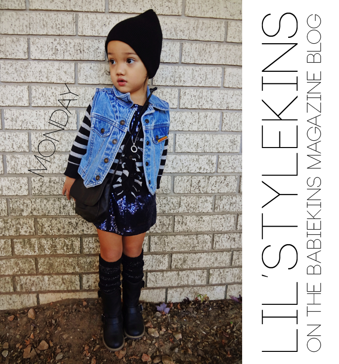 Click through to see Malaya's week of outfits on the Babiekins Magazine's blog series Lil' Stylekins