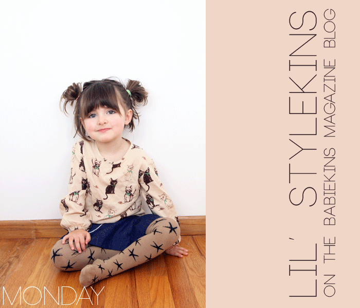 Monday's Outfit from Poppy's Closet on the Lil' Stylekins Feature of the Babiekins Magazine blog