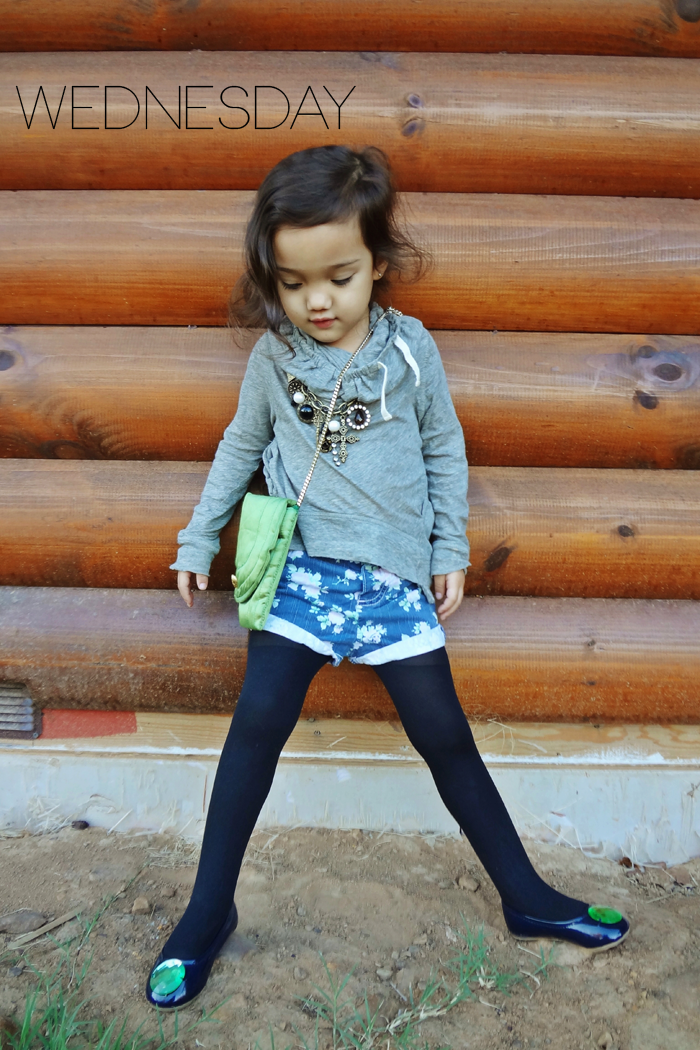 Click through to see a whole week of outfits modeled by Malaya of Wildflowers3 on Babiekins Magazine's blog series Lil' Stylekins