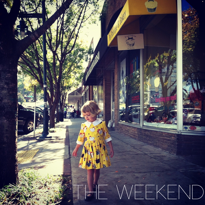 Weekend outfit as seen on Lil' Stylekins Feature on the Babiekins Magazine Blog - Girl is Poppy from Instagram's AllieRoyall