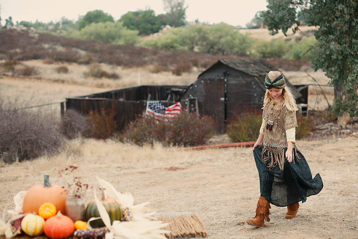Bohemian Harvest for Babiekins Magazine by Jessie Kenney and styling by Heather Rome