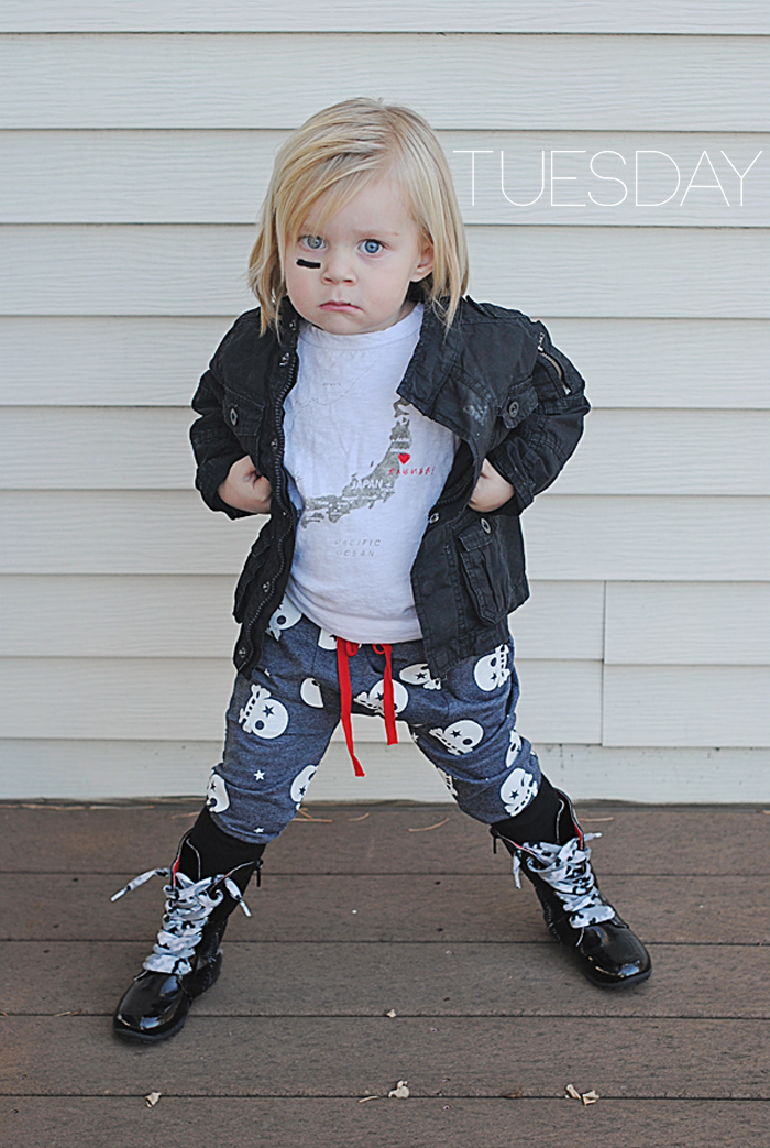 Brinley of Pirates & Peonies - Tuesday's Street Style on the Babiekins Magazine blog