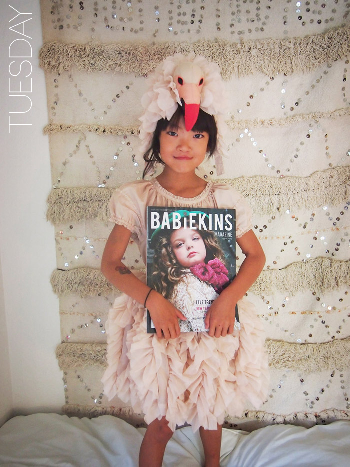 Flynn aka Q of The Voyagers featured on Lil' Stylekins on the Babiekins Magazine blog - Tuesday