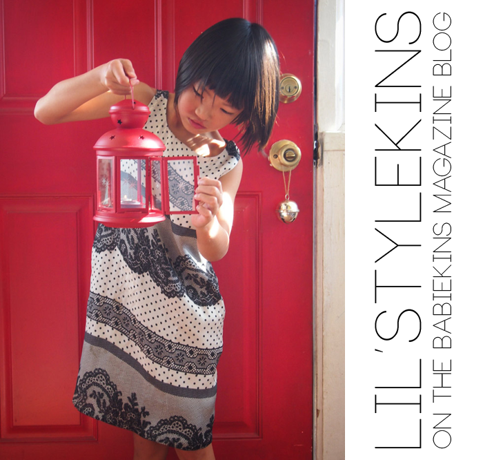 Flynn aka Q of The Voyagers featured on Lil' Stylekins on the Babiekins Magazine blog