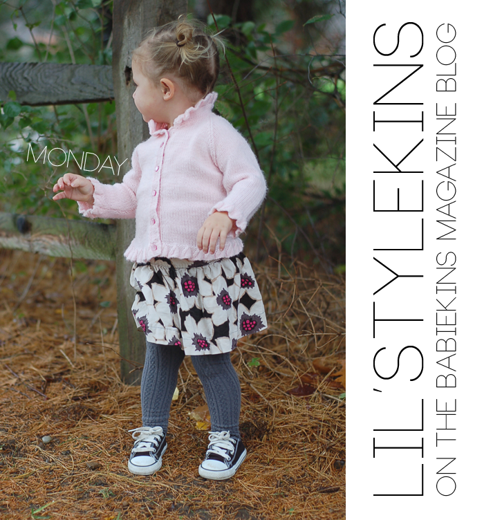 Jess of Yellow Finch on the Babiekins Magazine Blog's Lil' Stylekins street style feature