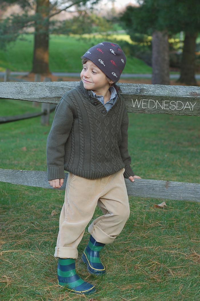 Josh of Yellow Finch on the Babiekins Magazine Blog's Lil' Stylekins street style feature - Wednesday