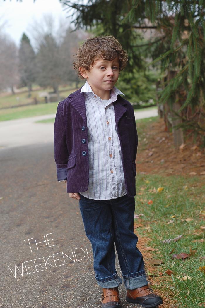 Josh of Yellow Finch on the Babiekins Magazine Blog's Lil' Stylekins street style feature - Weekend outfit