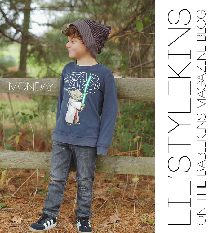 Josh of Yellow Finch on the Babiekins Magazine Blog's Lil' Stylekins street style feature