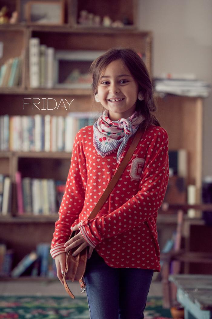 Alma and Nogah's Lil' Stylekins street-style feature on the Babiekins Magazine blog - Friday