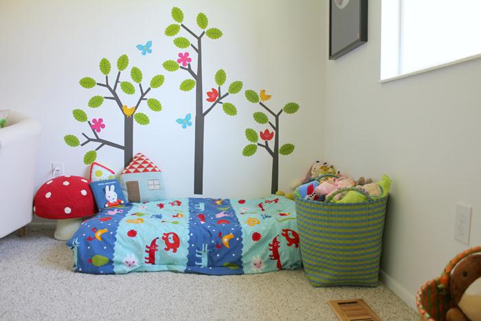 Mia Bella's bedroom tour on the Babiekins Magazine blog's SLEEPYKINS series