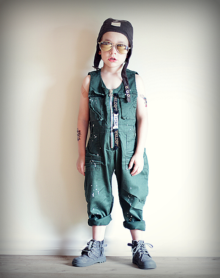 Superhero Pilot - Little boy dress-up with the Babiekins Magazine Blog