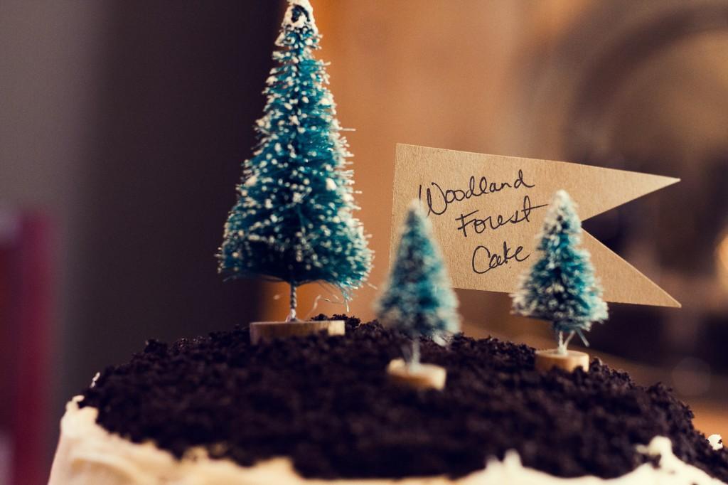 Woodland forest cake 2
