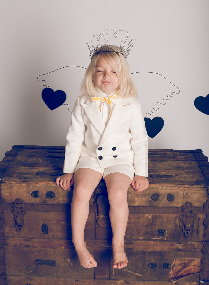 Babiekins Valentines photography by Stephanie Matthew, Styling by Heather Rome and Set by Michelle Shaka Berg