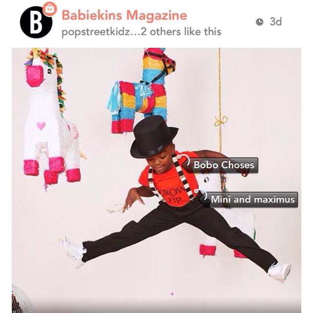 Babiekins Magazine on Lil Stylers App