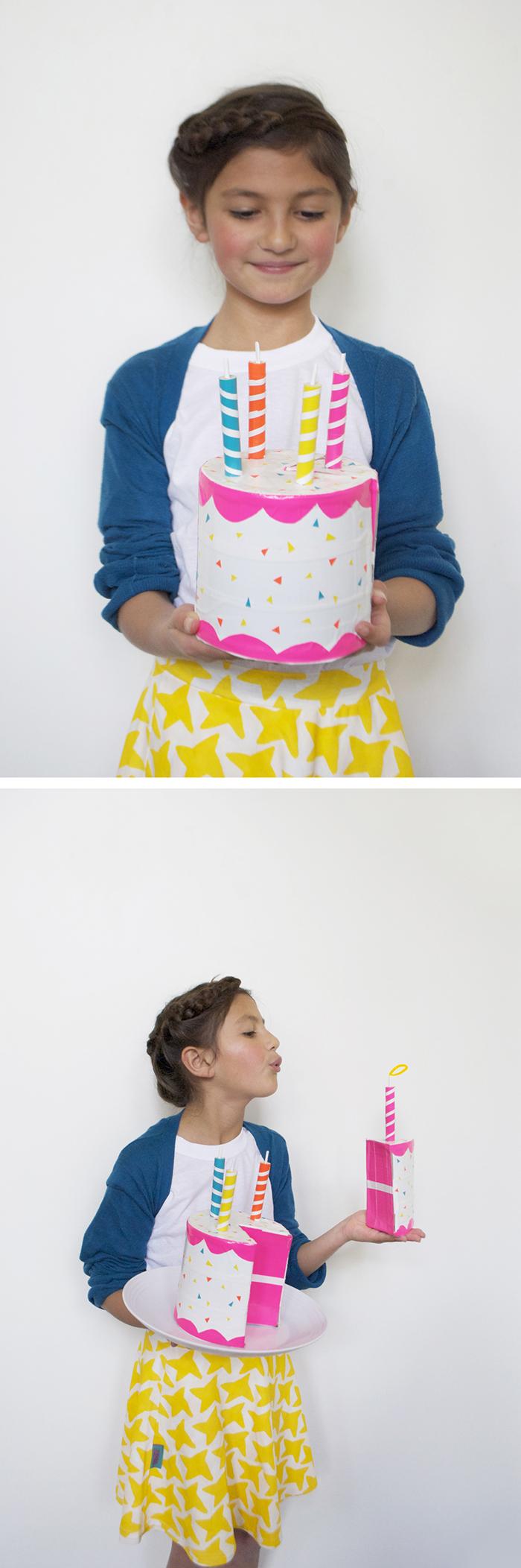 Babiekins Magazine | DIY Play Cake by Mer Mag