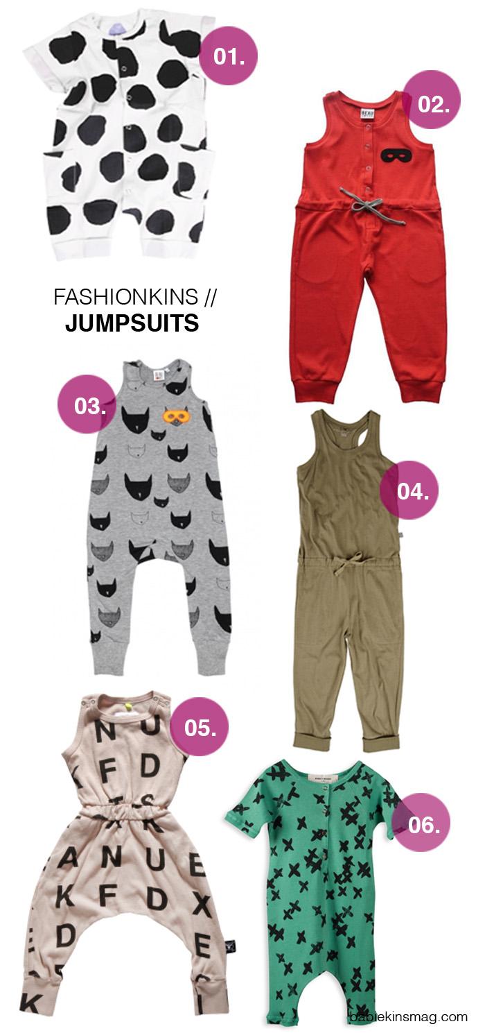Babiekins Magazine |Fashionkins // Jumpsuits