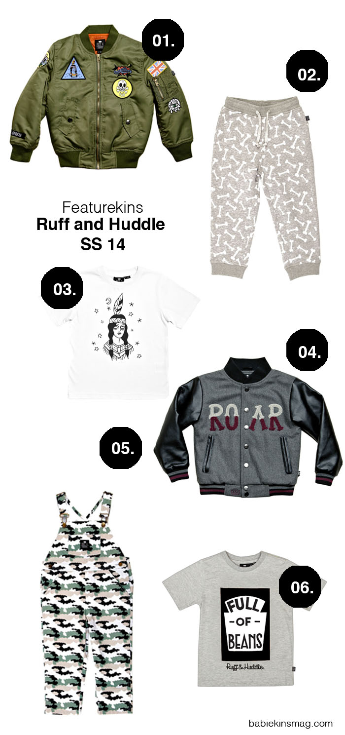 Babiekins Magazine | Ruff and Huddle SS14 Edgy Kids Clothes