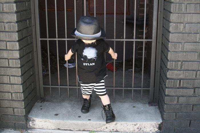 Babiekins Magazine | Boys Style Hats & Bob Dylan Tee