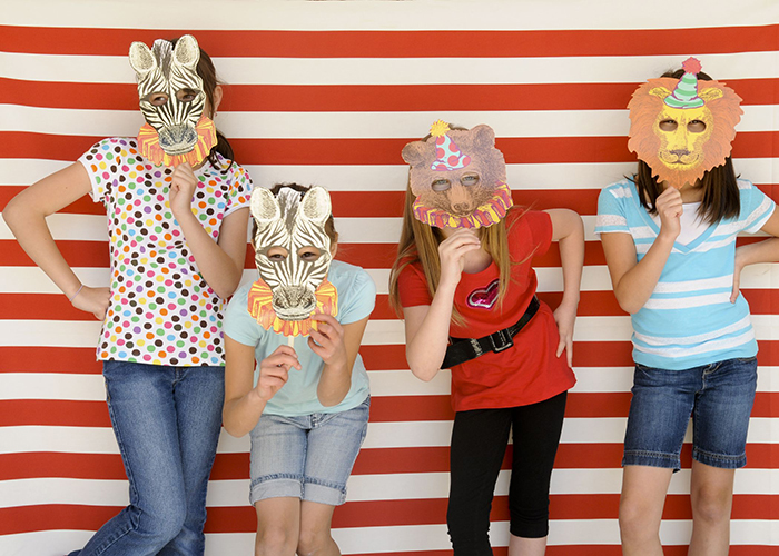 Partykins // A Circus-themed Birthday Party