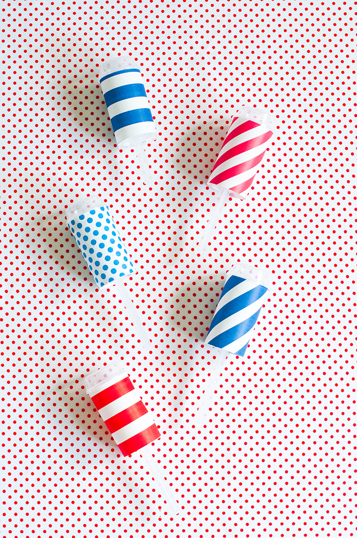 Craftykins // 4th of July Sprinkle Fireworks