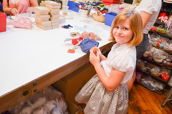 Featurekins // Lulu Wilson at Hazel Village workshop