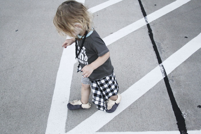 Babiekins Magazine | Minimocks modern mocassins for a stylish kids outfit