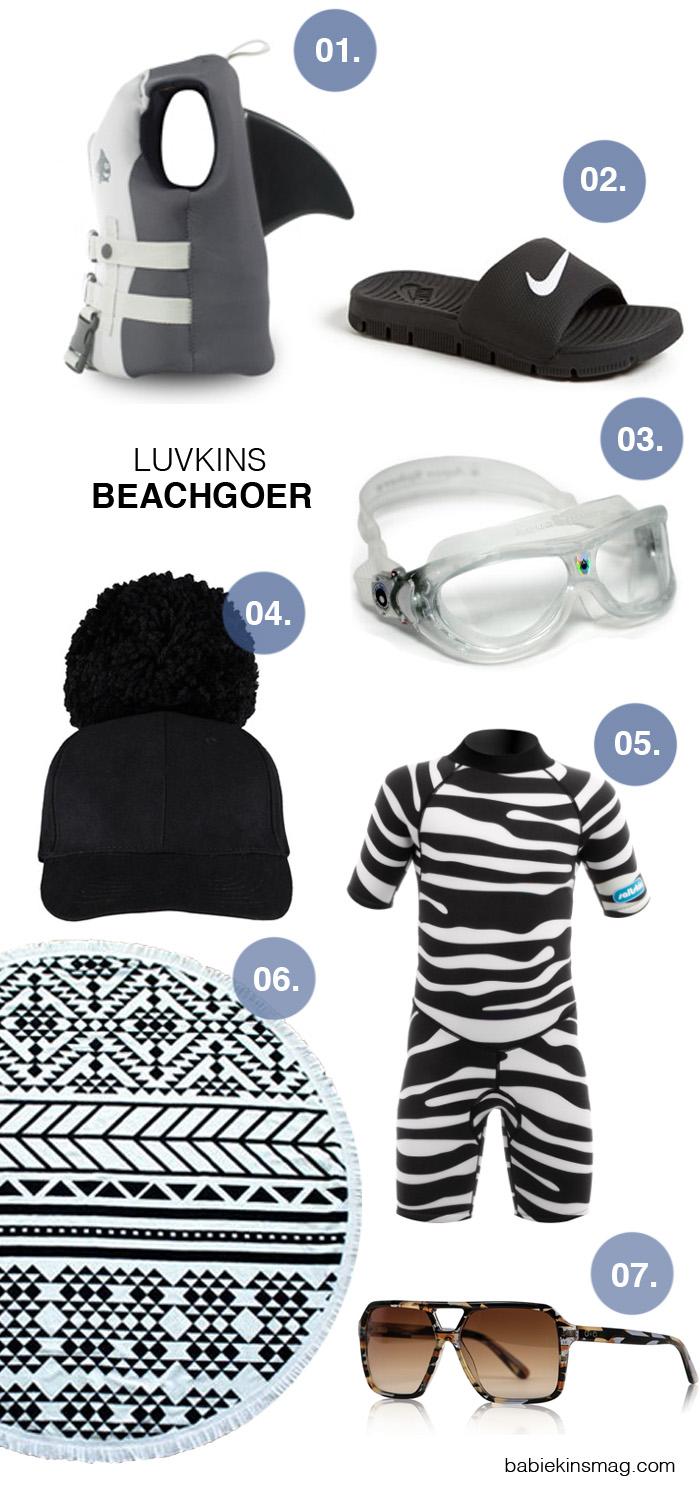 Babiekins Magazine Blog | Luvkins // Beachgoer