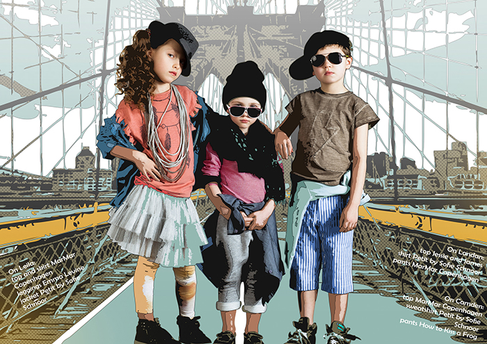 Babiekins Magazine | Fashionkins // Little Gangsters Of NY