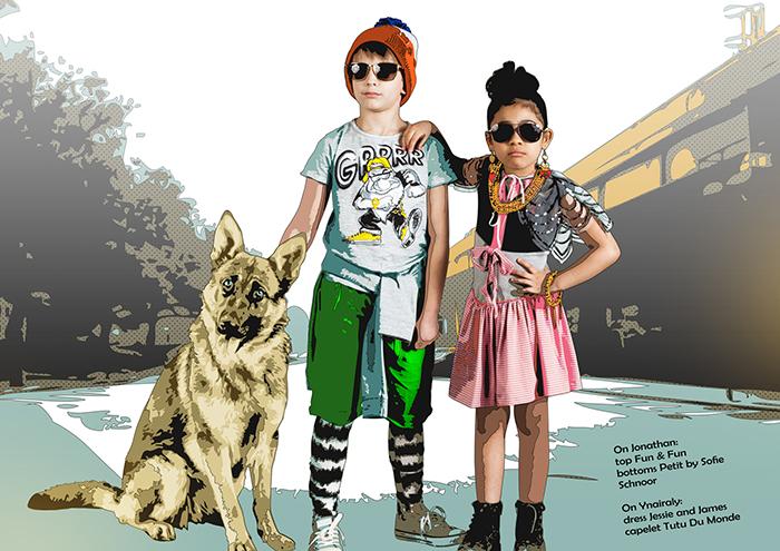 Babiekins Magazine   Fashionkins // Little Gangsters Of NY