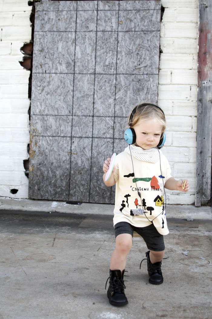Babiekins Mag | Bobo Choses and Mason and the Tambourine and Lot801 make a kids stylish outfit