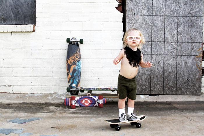 Babiekins Mag | Mason & the Tambourine Cactus Shorts