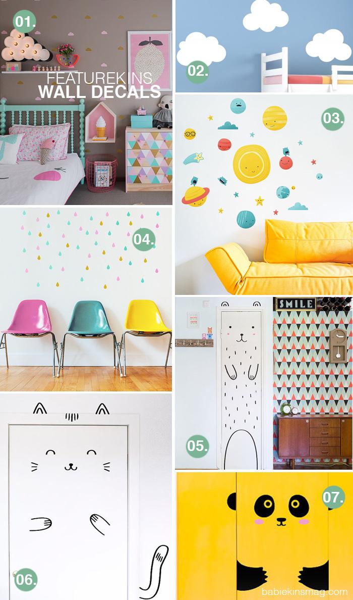 Babiekins Magazine Blog | Featurekins // Wall Decals