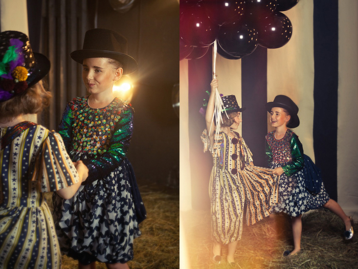 Babiekins Magazine|Fashionkins//Bambini del Circo