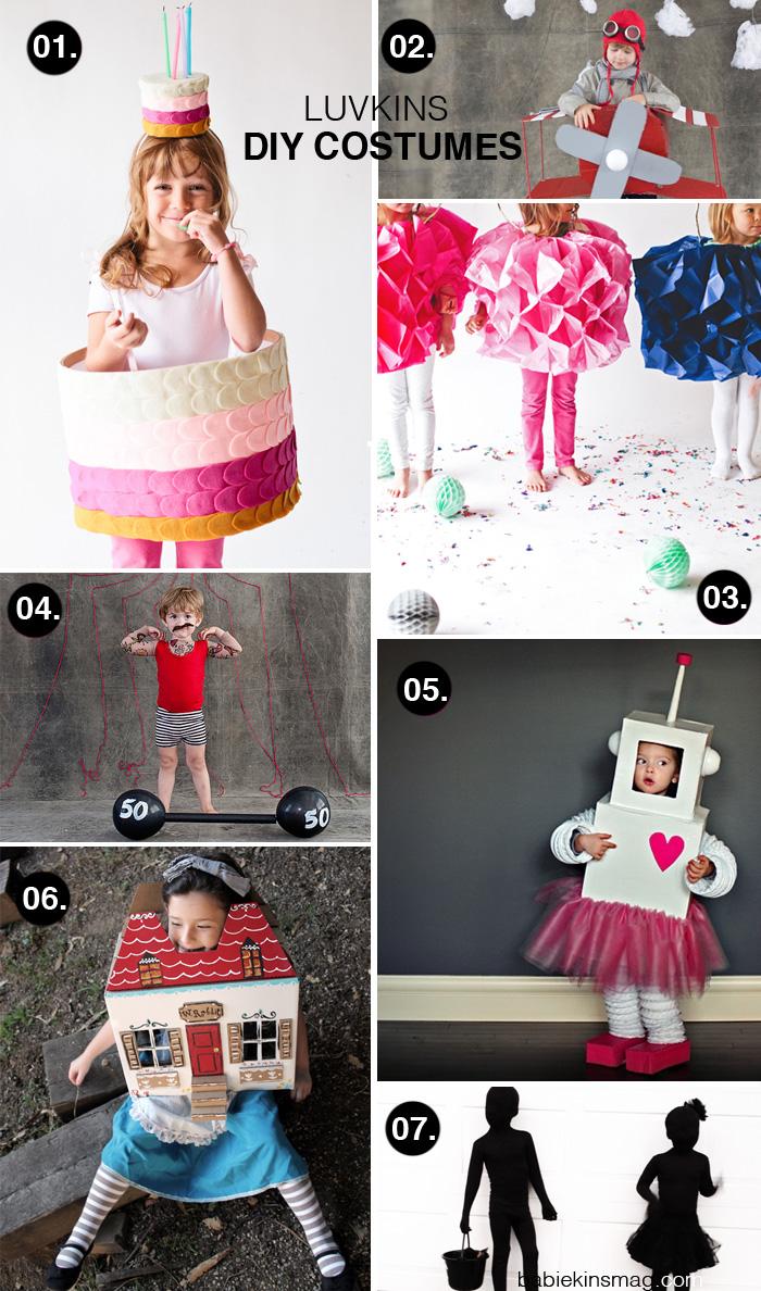 BabiekinsMag Blog |Luvkins // DIY Costumes