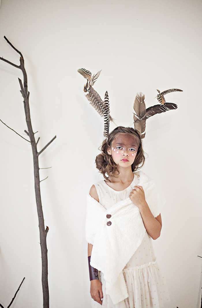 Babiekins Magazine| Featurekins//Conceptual Deer Costume by Julie Martin