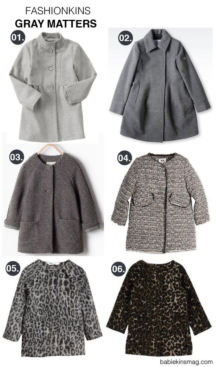 Babiekins Magazine | Fashionkins // Gray Matters