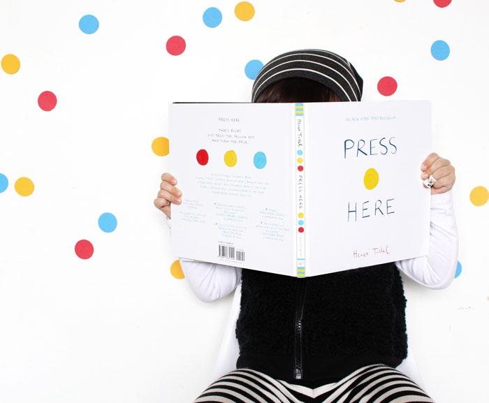 BabiekinsMag Blog |Storykins // Press Here & Mix It Up