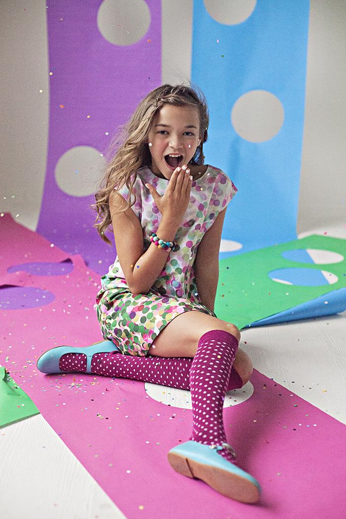 Babiekins Magazine| Fashionkins// Confetti by Julie Martin