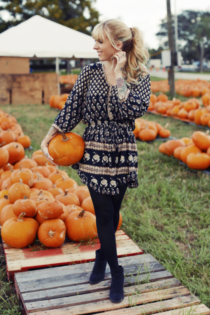 Babiekins Magazine|Momkins//The Perfect Fall Dress Worn Three Ways