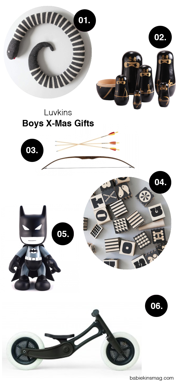 Babiekins Magazine | Boys X-Mas Gifts