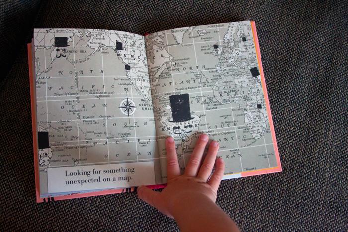 Babiekins Magazine - Storykins - Bonjour Camille - Map