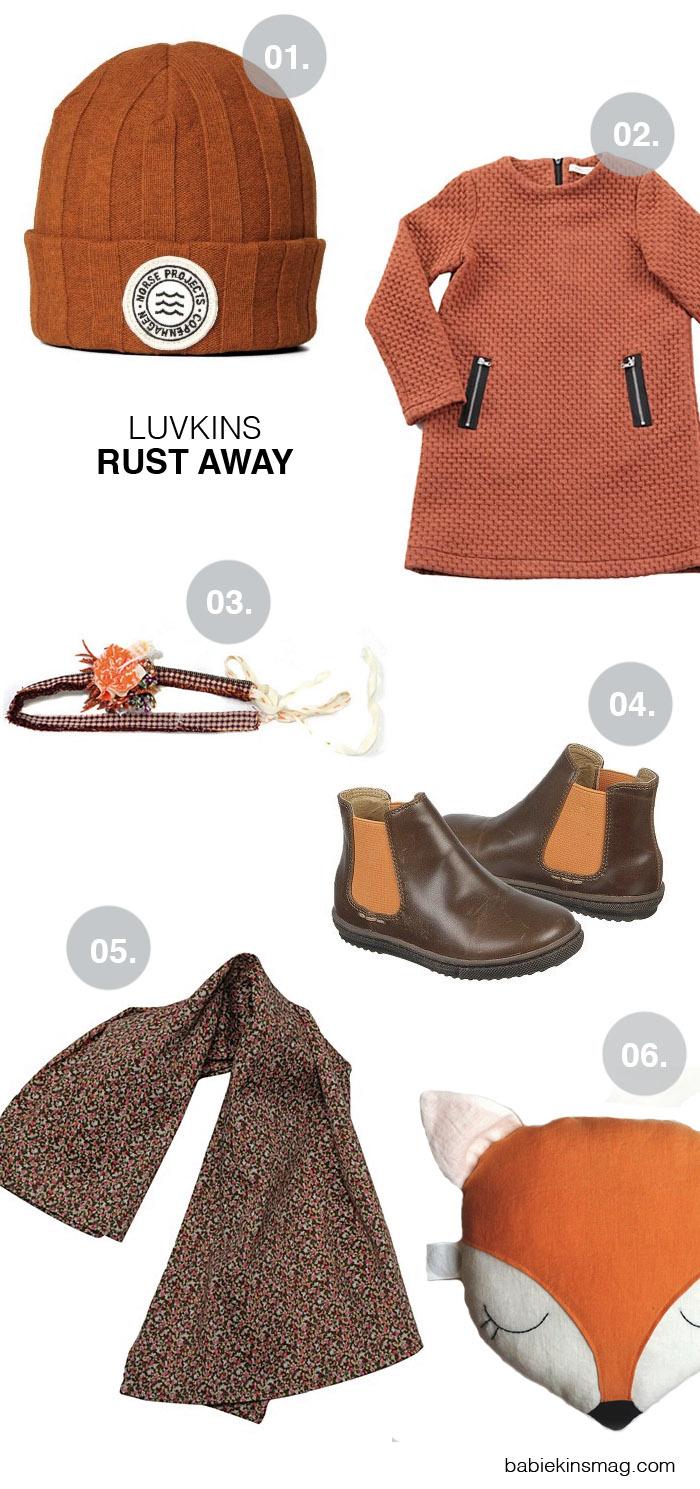 Babiekins Magazine|Luvkins // Rust Away