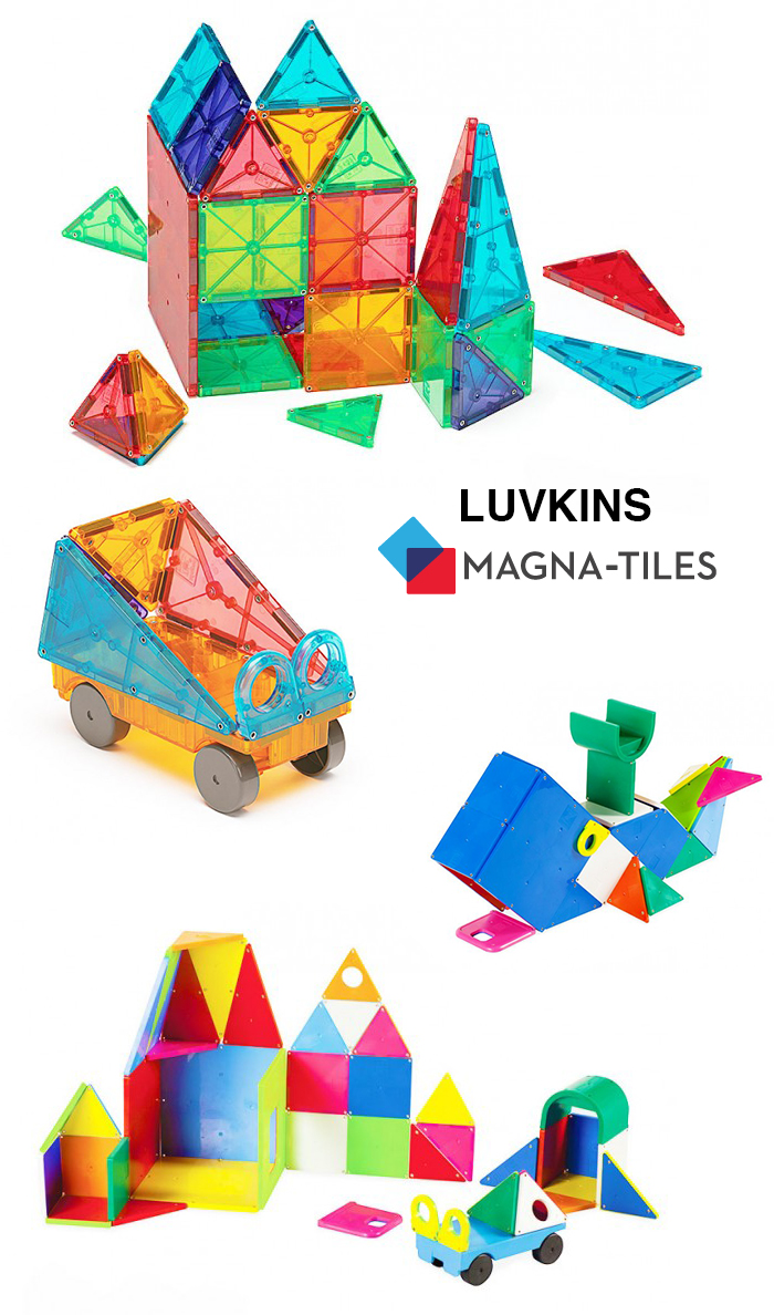 Babiekins Magazine // Luvkins | Magna-Tiles